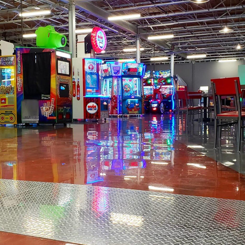 Arcades in Winnipeg